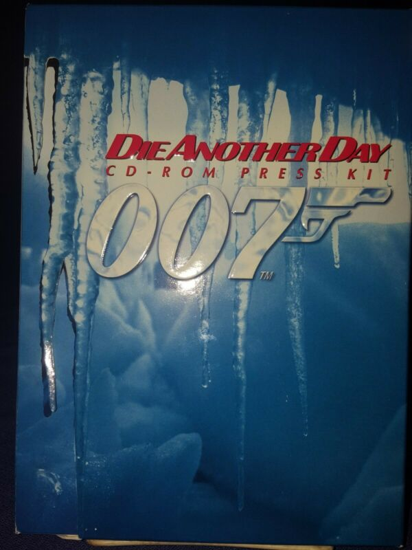 James Bond 2002 Die Another Day CD-ROM Press Kit with production notes booklet
