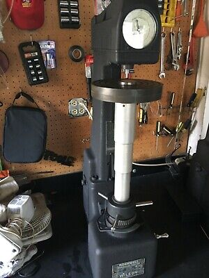 Wilson Rockwell Hardness Tester 5-jr Very Nice Instrument Large 16