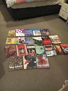 various text books years 7- 12 Cheltenham Kingston Area Preview