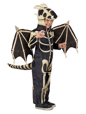 Dragon Skeleton Costume Princess Paradise Boys Child's 3T 4T 4 5 6 7 8 9 10 12 - Skeleton Boy Costume