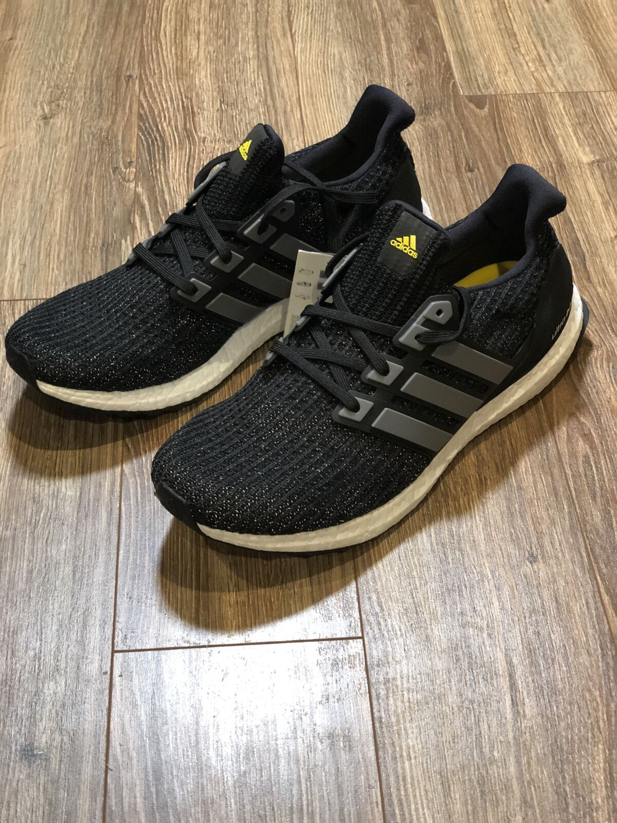 5a5a5aa136e adidas Ultra Boost 5th Anniversary Black Size 10.5 for sale online ...