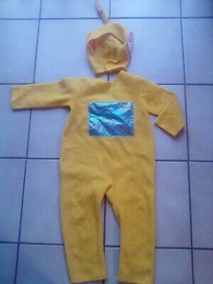 �m für Kinder Gr. 98 104 Karneval Fasching Teletubbies gelb (Teletubbies Kostüme Kinder)