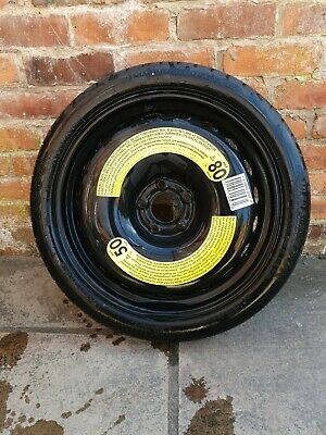 AUDI A3 A4 SPACE SAVER STEEL WHEEL & TYRE T125/70/R19 - TEMPORARY USE ONLY