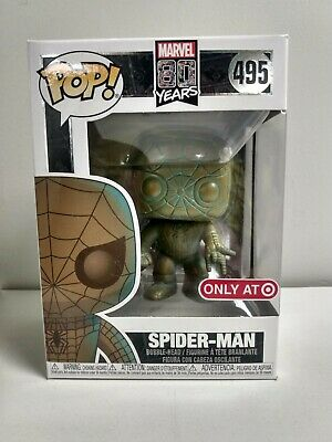 Funko POP! Spider-Man 495 Patina Marvel 80 years anniversary [READ DETAILS]