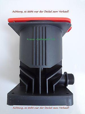 Ersatzdeckel für GARDENA Anschlussdose oder Wassersteckdose Rot (Deckel 2795-20)