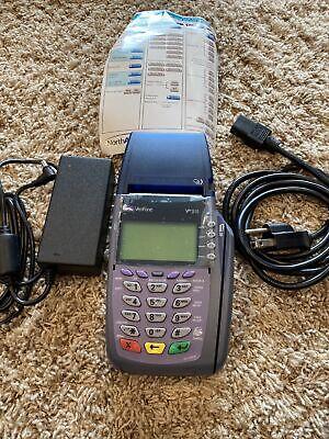 Verifone Vx510 Omni 3730 Le Creditdebit Card Machine W Analog Cable New
