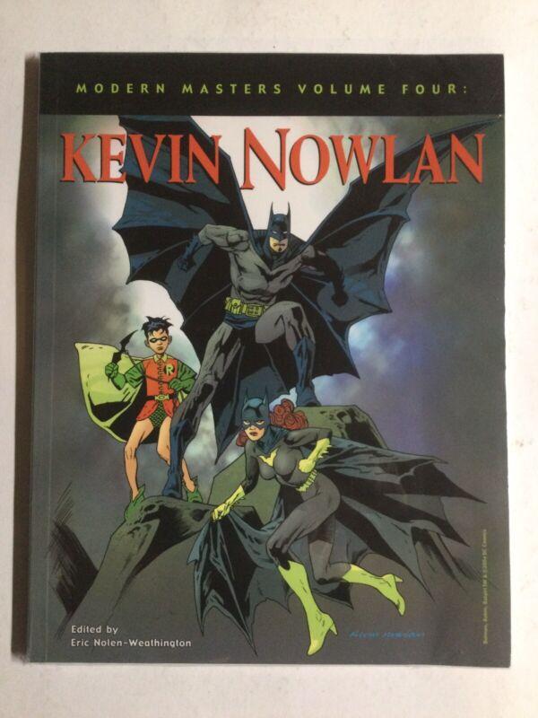 Modern Masters Volume Four Kevin Nowlan Oversized Near Mint Nm Dc Comics