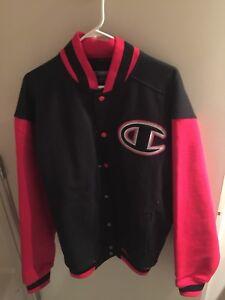 Champion men medium letterman jacket