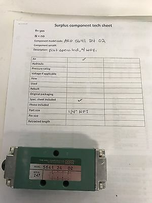 Pneumatic Valve 5641 24 02 Aro