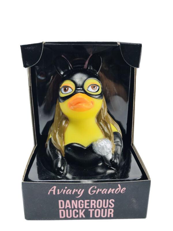 CelebriDucks Aviary Grande Dangerous Duck Tour Rubber Duck Toy Ariana Grande