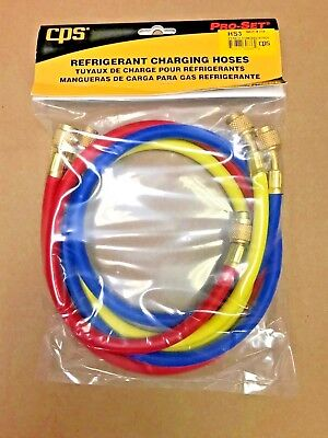 Cps Products Charging Hose Set 36 Yellow Blue Red