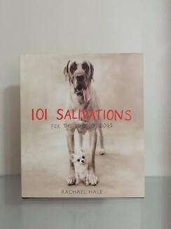 101 Salivations For The Love Of Dogs H/Cover Book VGC