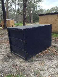 Steel box crate for ute Dereel Golden Plains Preview