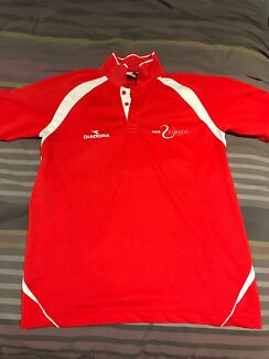 Brand New Red Diadora Tennis Top: Size M, fits most
