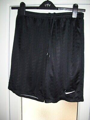 Nike Dri-Fit men's black unlined lightweight sports shorts.Size large.Bargain!