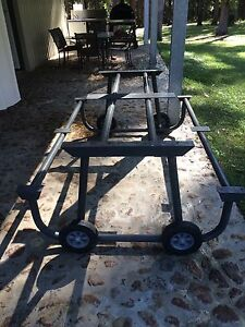 Picnic bench frame with wheels Kew Port Macquarie City Preview