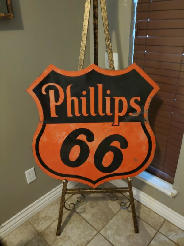 Original Phillips 66 Advertising Sign