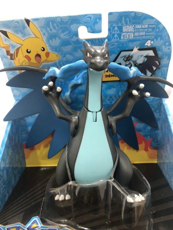 Pokémon Mega Charizard X Action Figure Toy Limited Release Rare Vintage Vtg Tomy
