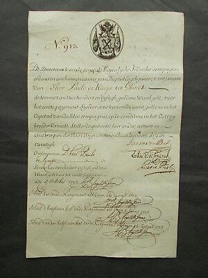 IMPERIAL TRADING (EAST INDIA) COMPANY - 1723 - SHARE CERIFICATE
