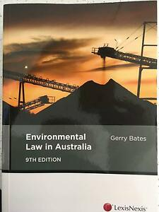 Environmental Law in Australia, 9th ed, Gerry Bates (Feb 2016) Bulimba Brisbane South East Preview