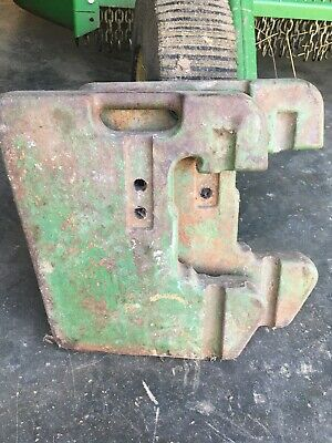 John Deere 45kg99lb Tractor Suitcase Weights Partr51680 Fits Many Models