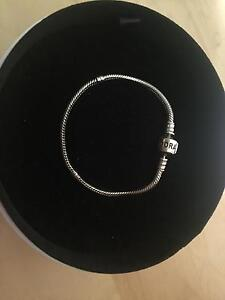Pandora silver bracelet with silver clasp Hornsby Hornsby Area Preview