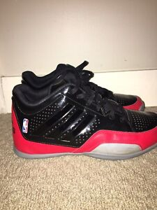 Adidas Basketball Shoes- Black/Red
