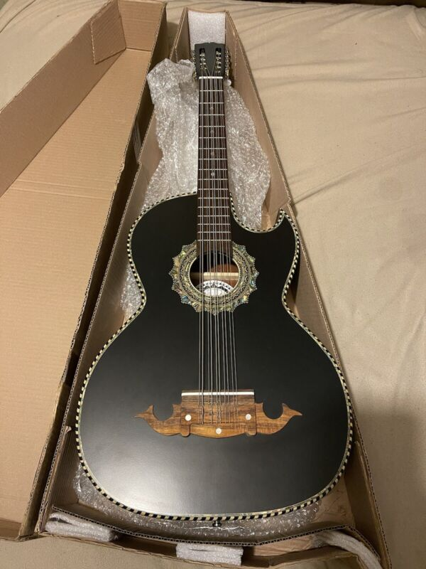 Brand New Paracho Elite Morelia Model Bajo Quinto Guitar