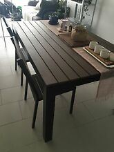Indoor/outdoor table w/ bench seat & 2 chairs Fortitude Valley Brisbane North East Preview