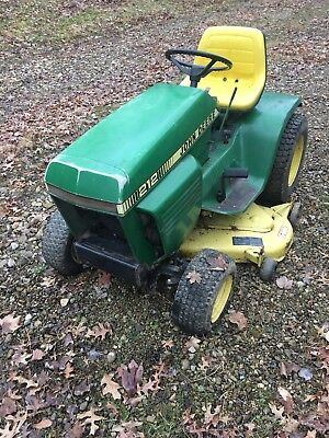 """John Deere 212 Lawn Tractor Mower Riding 42""""deck Pickup Only"""