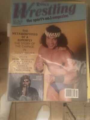 The Ring's Wrestling Magazine February 1983 Jimmy Snuka Cover Adrian Adonis WWF