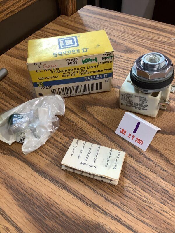 SQUARE D 9001KM1 SER. G Green Lense