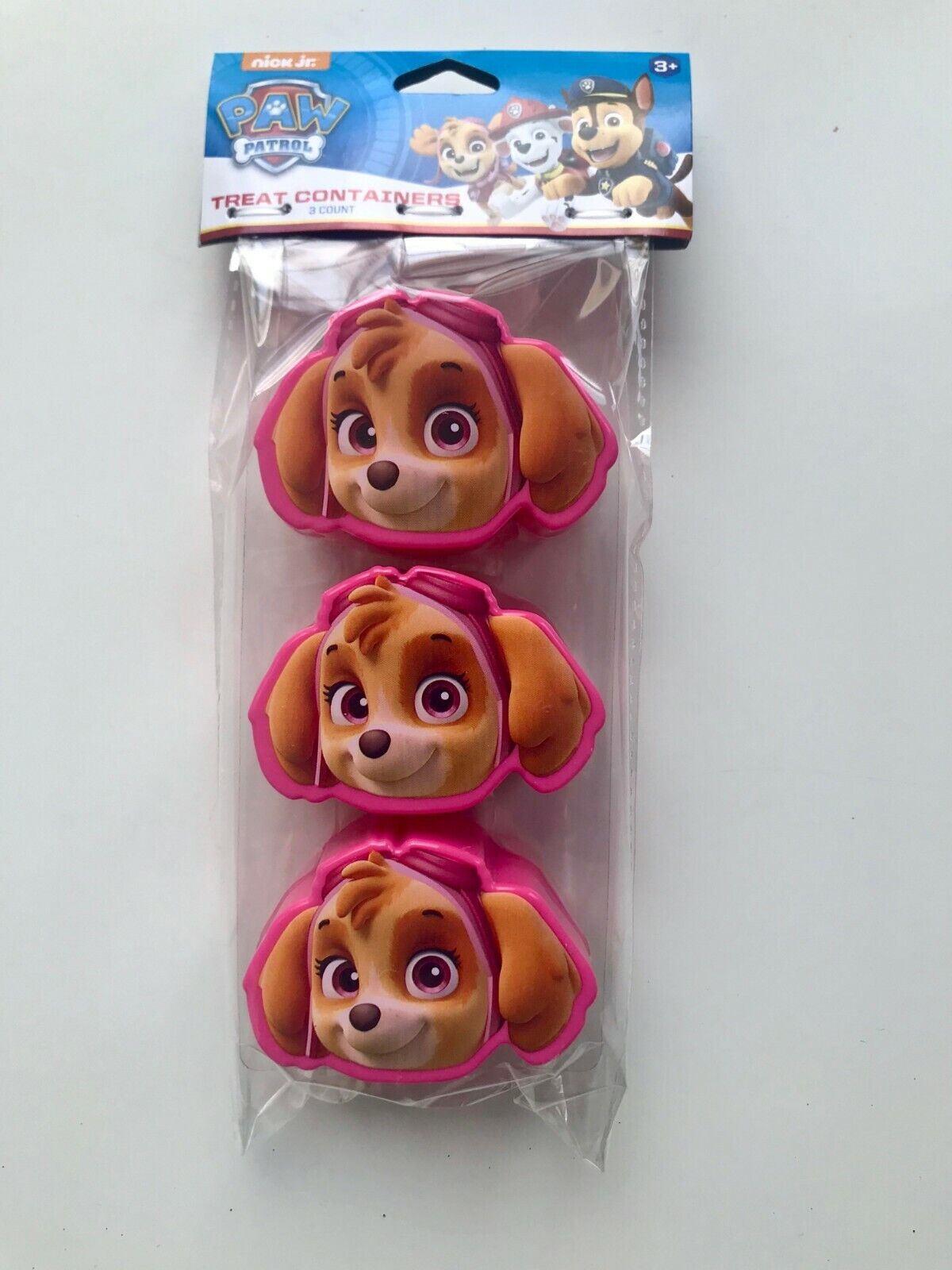 PAW PATROL TREAT CONTAINERS BIRTHDAY 3 PARTY FAVORS EASTER E