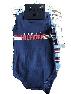 Tommy Hilfiger Bodysuits Baby Clothes NWT 0-3 Months