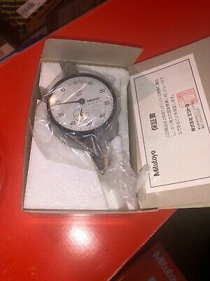 Mitutoyo Dial Indicator No. 2411-10 .001 New