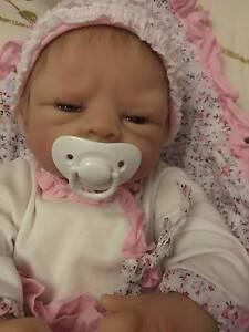 Pending Sale: Ashton Drake Reborn Baby Vinyl Baby Doll Melbourne CBD Melbourne City Preview