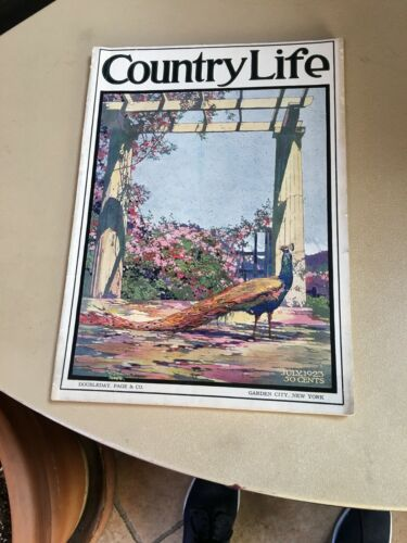 July 1923 Country Life Magazine 100% Complete