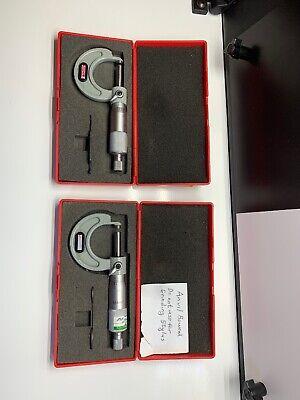 Spi Mechanical 0-1 Outside Micrometer 12-349-7 W Case