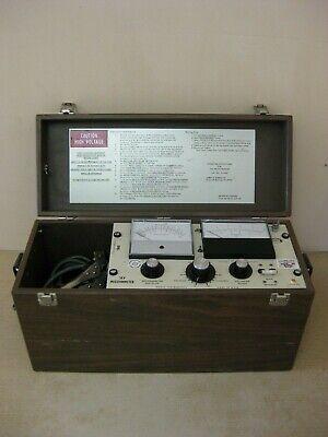 Biddle 210400 5kv Megger Megohmmeter Insulation Tester Test Set Free Shipping