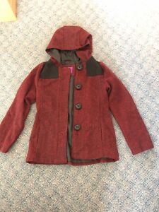 Girls size 7/8 winter dress coat