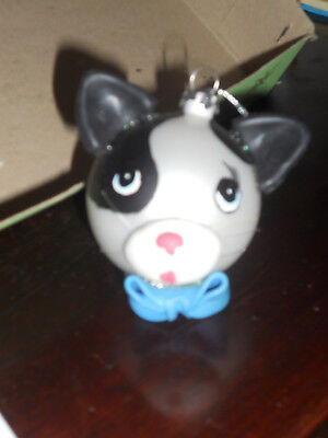 GLASS Ball Cat Ornament Christmas ORNAMENT Cute New