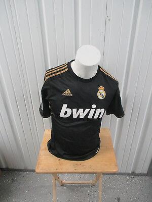 Vintage Adidas Real Madrid F C Cristiano Ronaldo  7 Sewn Small 2010 11 Jersey