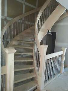 Custom Stairs Railings Mantles Deck Rails Calgary Alberta image 1