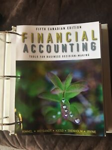Financial accounting textbooks