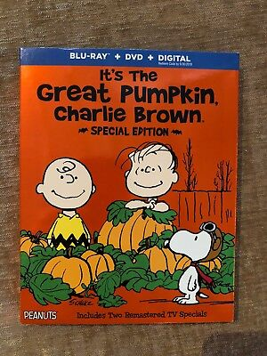 Its the Great Pumpkin Charlie Brown (Blu-ray + DVD) Halloween Special Edition