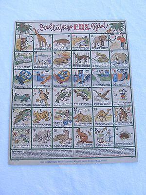altes Gesellschaftsspiel Spiele Brett Werbung EOS Schuhcreme von 1931