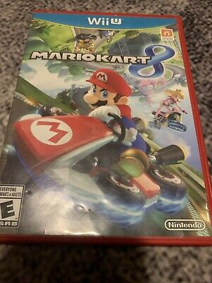 Mario Kart 8 (Nintendo Wii U, 2014) No Manual