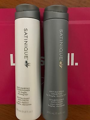 Amway Satinique Anti Hairfall Shampoo And Conditioner Saves Up To 1800 Strands