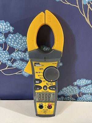 Ideal 660a True-rms Ac Clamp Meter With Tightsight Model 61-763 New