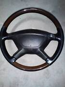 Nardi Torino woodgrain and leather steering wheel Caroline Springs Melton Area Preview